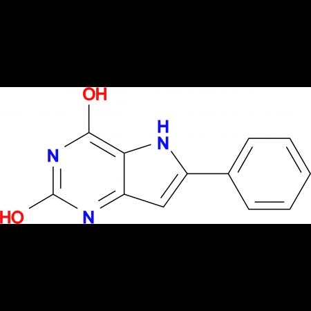 6-Phenyl-5H-pyrrolo[3,2-d]pyrimidine-2,4-diol