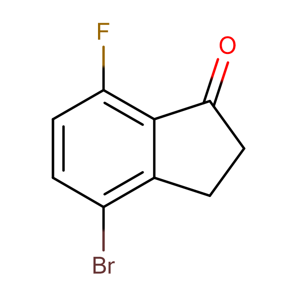 4-Bromo-7-fluoro-2,3-dihydro-1H-inden-1-one
