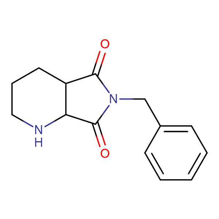 6-Benzyltetrahydro-1H-pyrrolo[3,4-b]pyridine-5,7(6H,7aH)-dione