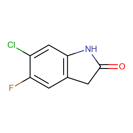 6-Chloro-5-fluoroindolin-2-one
