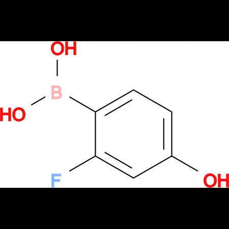(2-Fluoro-4-hydroxyphenyl)boronic acid