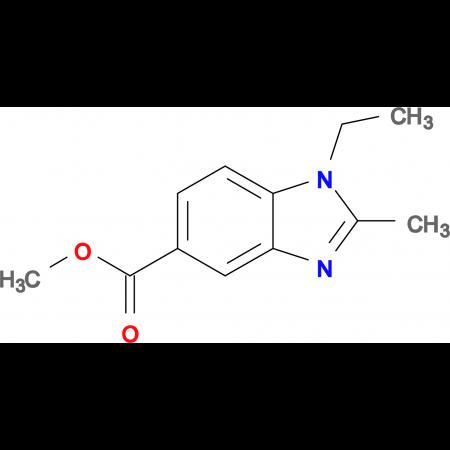 Methyl 1-ethyl-2-methyl-1H-benzo[d]imidazole-5-carboxylate