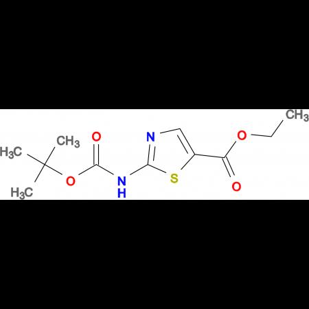 Ethyl 2-((tert-butoxycarbonyl)amino)thiazole-5-carboxylate