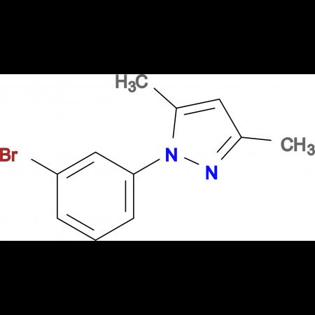 1-(3-Bromophenyl)-3,5-dimethyl-1H-pyrazole