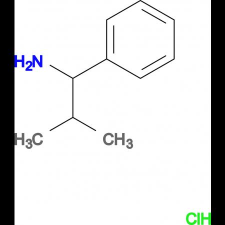 2-Methyl-1-phenylpropan-1-amine hydrochloride