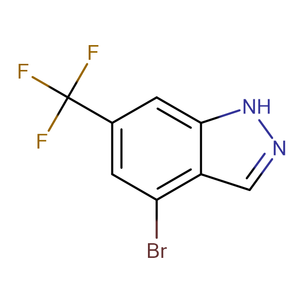 4-Bromo-6-(trifluoromethyl)-1H-indazole