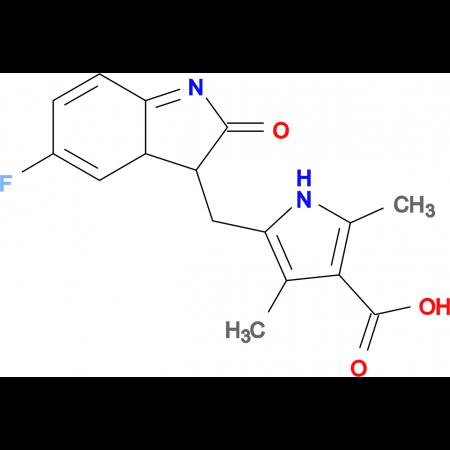 (Z)-5-((5-Fluoro-2-oxoindolin-3-ylidene)methyl)-2,4-dimethyl-1H-pyrrole-3-carboxylic acid