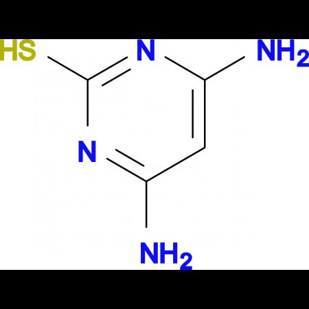 4,6-Diaminopyrimidine-2-thiol