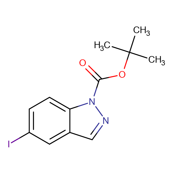 tert-Butyl 5-iodo-1H-indazole-1-carboxylate