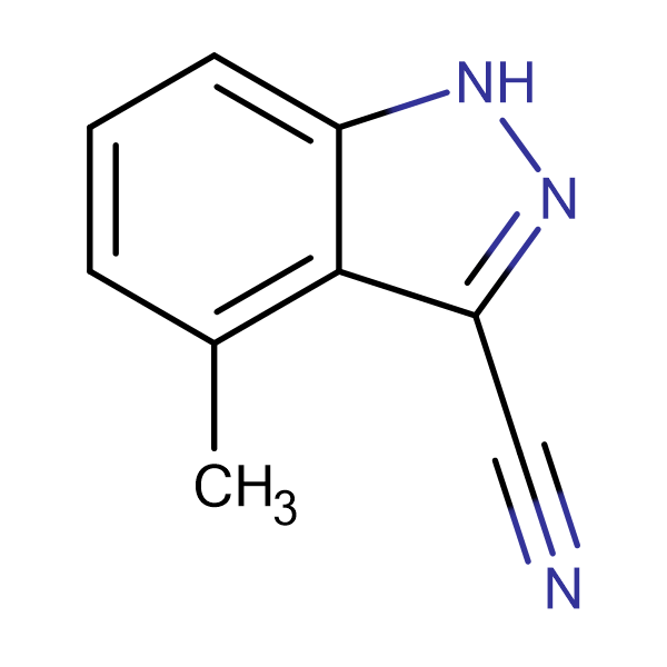 4-Methyl-1H-indazole-3-carbonitrile
