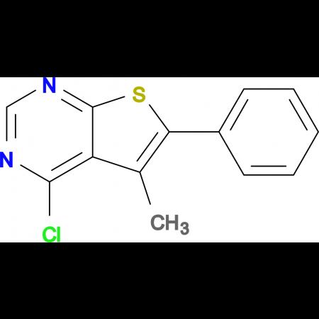 4-Chloro-5-methyl-6-phenylthieno[2,3-d]pyrimidine