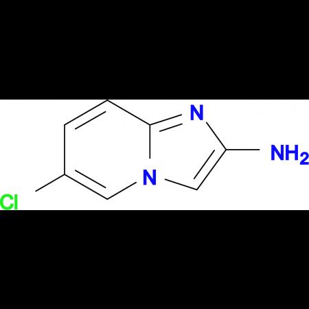 6-Chloroimidazo[1,2-a]pyridin-2-amine
