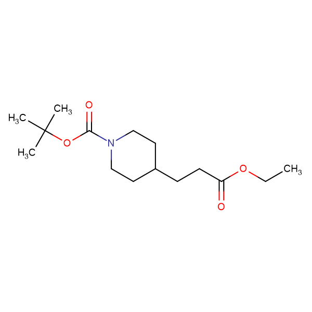 tert-Butyl 4-(3-ethoxy-3-oxopropyl)piperidine-1-carboxylate