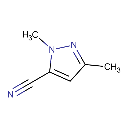 1,3-Dimethyl-1H-pyrazole-5-carbonitrile