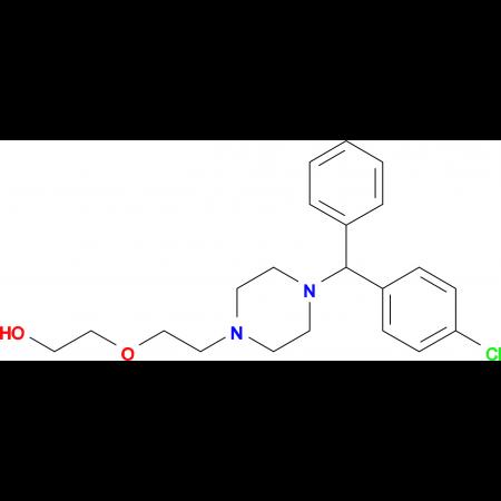 2-(2-(4-((4-Chlorophenyl)(phenyl)methyl)piperazin-1-yl)ethoxy)ethanol