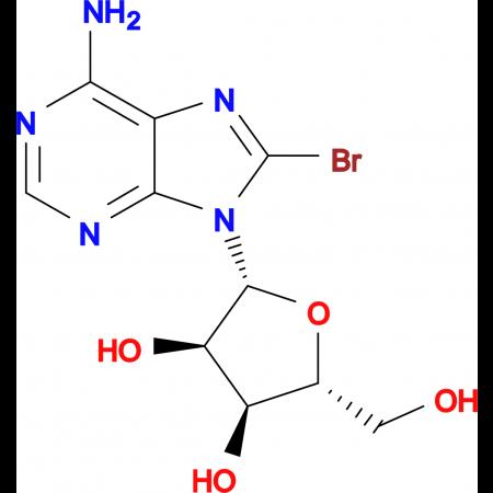 (2R,3R,4S,5R)-2-(6-Amino-8-bromo-9H-purin-9-yl)-5-(hydroxymethyl)tetrahydrofuran-3,4-diol