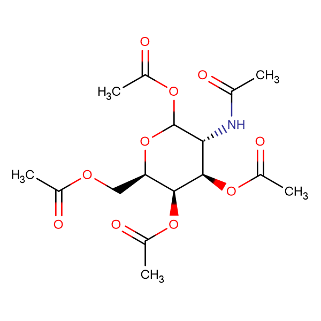 (3R,4R,5R,6R)-3-Acetamido-6-(acetoxymethyl)tetrahydro-2H-pyran-2,4,5-triyl triacetate
