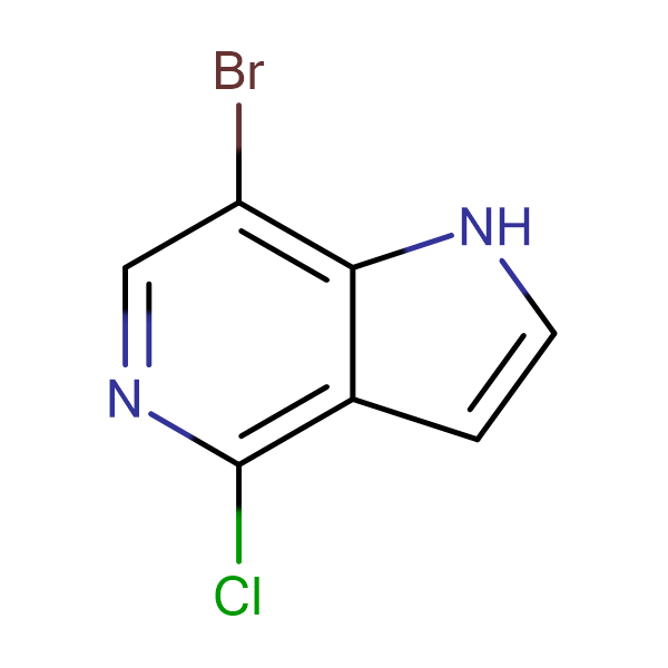 7-Bromo-4-chloro-1H-pyrrolo[3,2-c]pyridine
