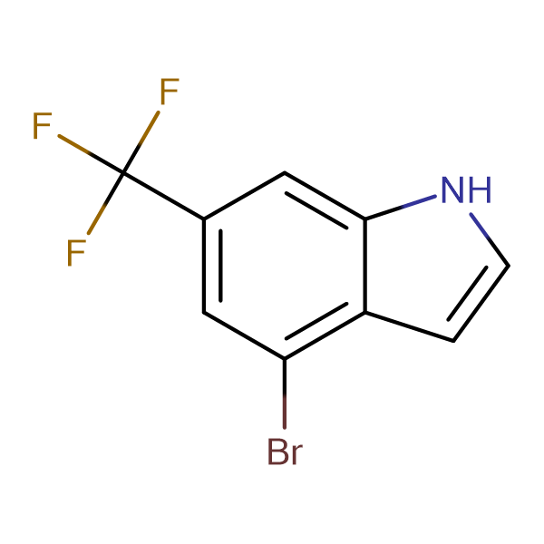 4-Bromo-6-(trifluoromethyl)-1H-indole