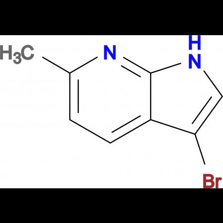 3-Bromo-6-methyl-1H-pyrrolo[2,3-b]pyridine