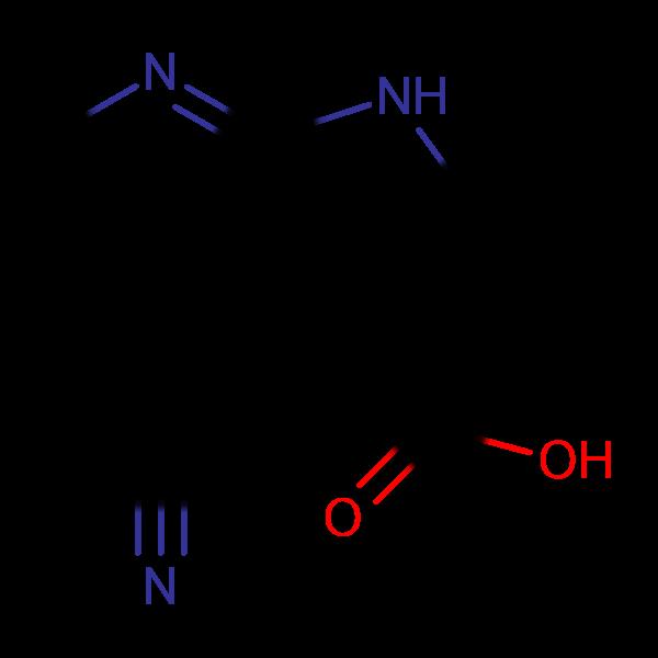 4-Cyano-1H-pyrrolo[2,3-b]pyridine-3-carboxylic acid