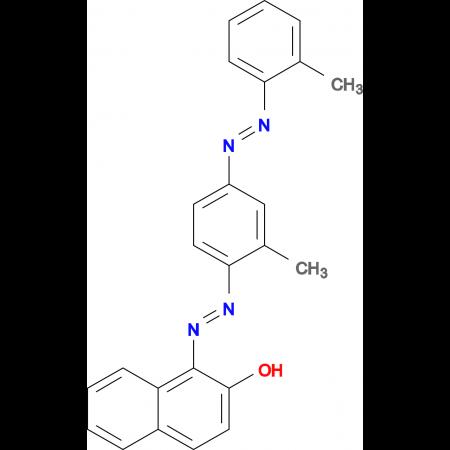 1-((2-Methyl-4-(o-tolyldiazenyl)phenyl)diazenyl)naphthalen-2-ol