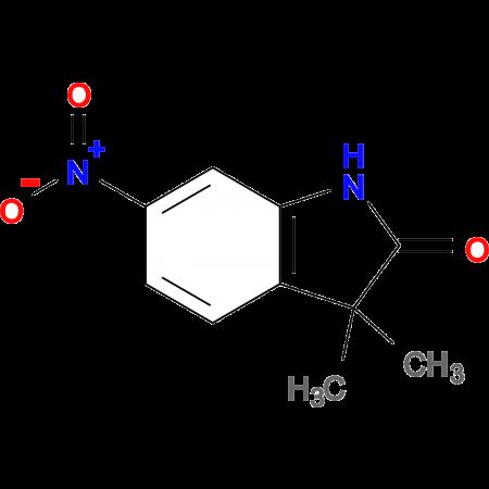 3,3-Dimethyl-6-nitroindolin-2-one