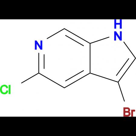 3-Bromo-5-chloro-1H-pyrrolo[2,3-c]pyridine
