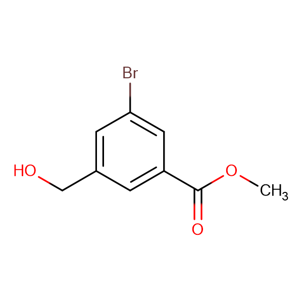 Methyl 3-bromo-5-(hydroxymethyl)benzoate