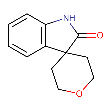 2',3',5',6'-Tetrahydrospiro[indoline-3,4'-pyran]-2-one
