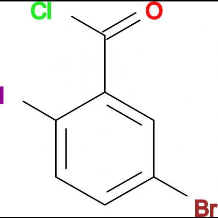 Benzoyl chloride, 5-bromo-2-iodo-