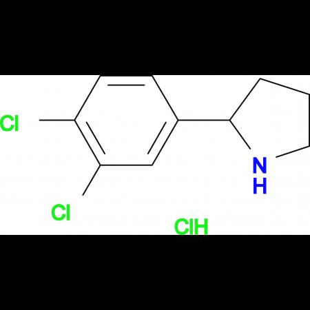 2-(3,4-Dichloro-phenyl)-pyrrolidine hydrochloride