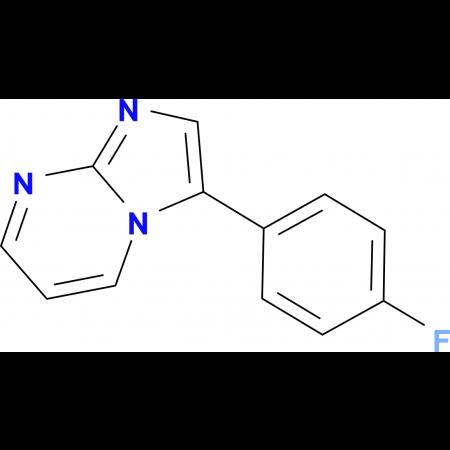 3-(4-fluorophenyl)imidazo[1,2-a]pyrimidine