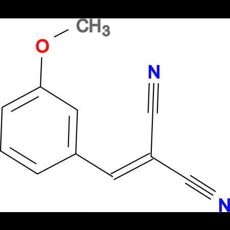 (3-methoxybenzylidene)propanedinitrile