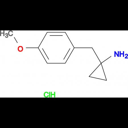 1-(4-methoxybenzyl)cyclopropanamine hydrochloride