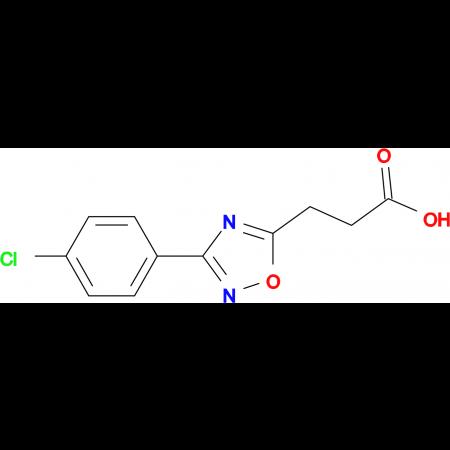 3-[3-(4-CHLORO-PHENYL)-[1,2,4]OXADIAZOL-5-YL]-PROPIONIC ACID