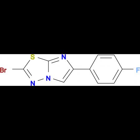 2-BROMO-6-(4-FLUOROPHENYL)IMIDAZO[2,1-B][1,3,4]THIADIAZOLE
