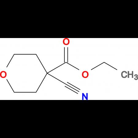 ETHYL 4-CYANOTETRAHYDRO-2H-PYRAN-4-CARBOXYLATE