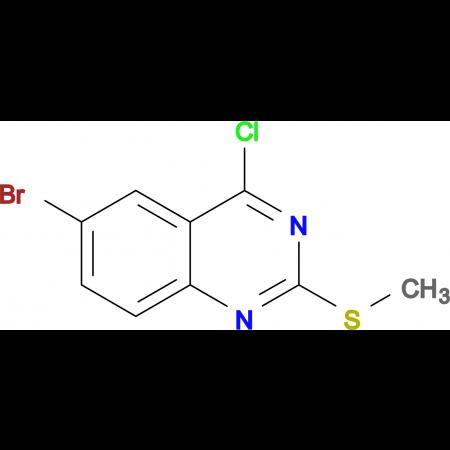 6-BROMO-4-CHLORO-2-(METHYLTHIO)QUINAZOLINE