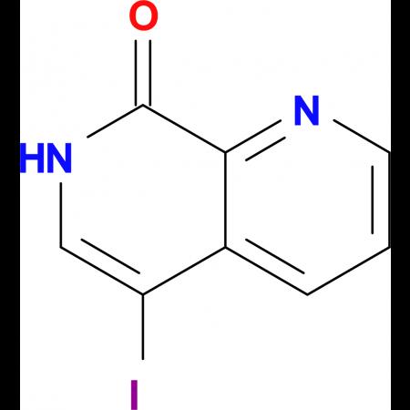 5-IODO-1,7-NAPHTHYRIDIN-8(7H)-ONE