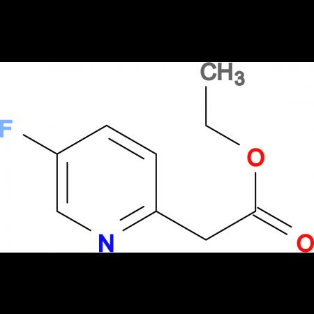 ETHYL 2-(5-FLUOROPYRIDIN-2-YL)ACETATE