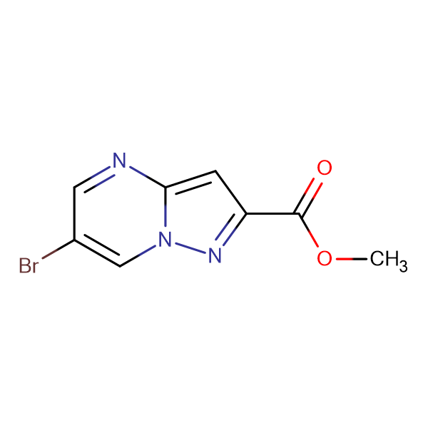 METHYL 6-BROMOPYRAZOLO[1,5-A]PYRIMIDINE-2-CARBOXYLATE