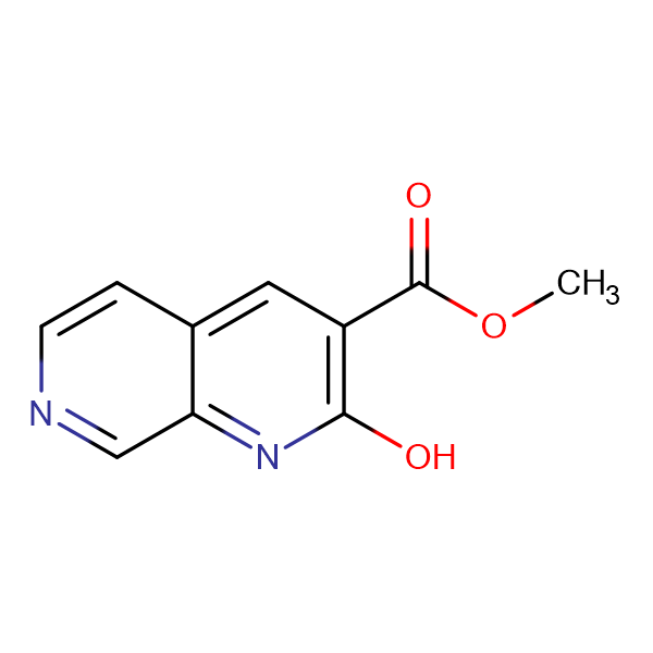 METHYL 2-HYDROXY-1,7-NAPHTHYRIDINE-3-CARBOXYLATE