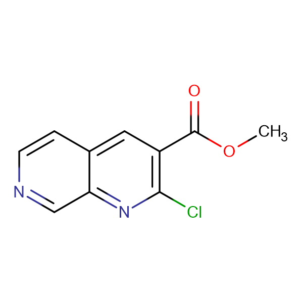 METHYL 2-CHLORO-1,7-NAPHTHYRIDINE-3-CARBOXYLATE