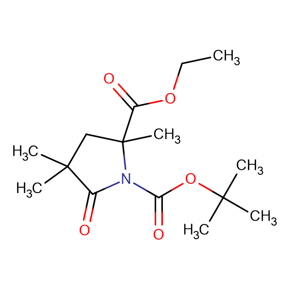 ETHYL N-BOC-2,4,4-TRIMETHYL-5-OXOPYRROLIDINE-2-CARBOXYLATE