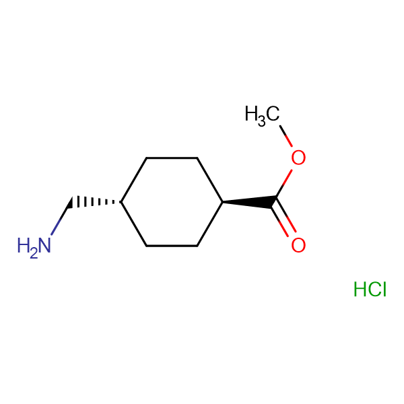 TRANS-METHYL 4-AMINOMETHYL-CYCLOHEXANECARBOXYLATE HCL