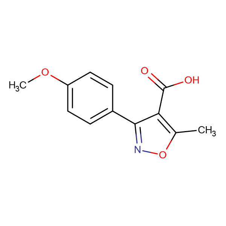 3-(4-METHOXYPHENYL)-5-METHYLISOXAZOLE-4-CARBOXYLIC ACID