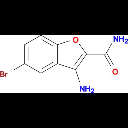 3-AMINO-5-BROMOBENZOFURAN-2-CARBOXAMIDE