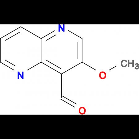 3-METHOXY-1,5-NAPHTHYRIDINE-4-CARBALDEHYDE