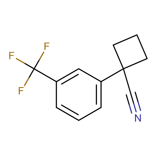 1-[3-(TRIFLUOROMETHYL)PHENYL]CYCLOBUTANE-1-CARBONITRILE